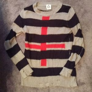 Rare unif Freddy distressed sweater